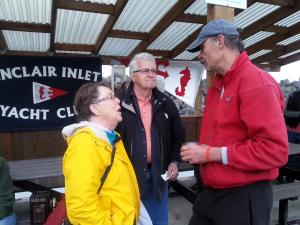 Some of our earliest friends in the club (PMYC, not Sinclair Inlet) -Ron and Carol Fenner.