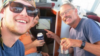 Only a hundred miles to go--calls for beers around!!