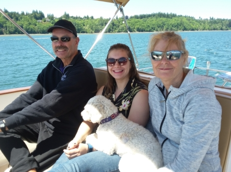 My sister Lisa and niece Karrin went on a Restless mini cruise in June after Karrin finished the school year at Western.